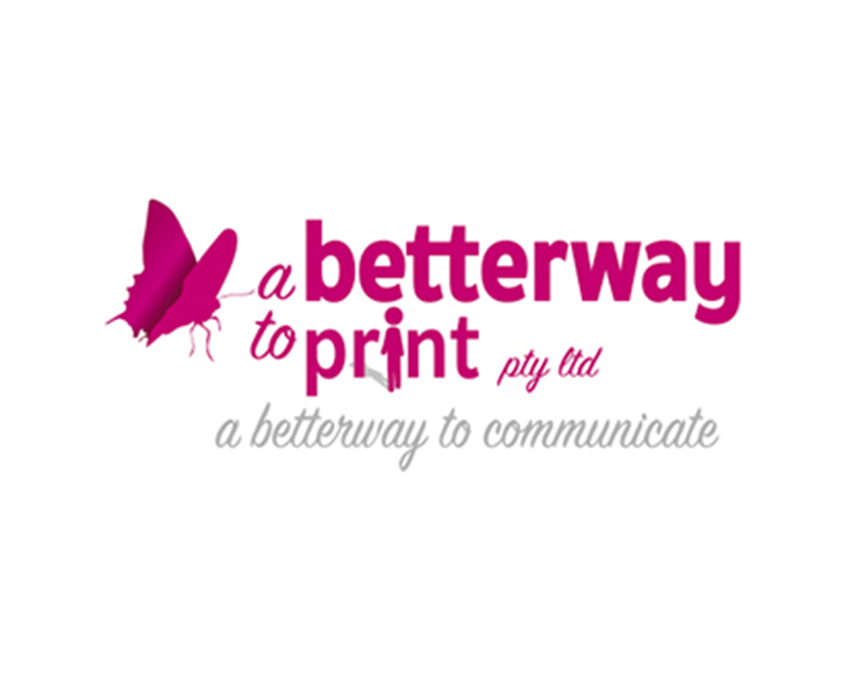 A Betterway to Print Logo