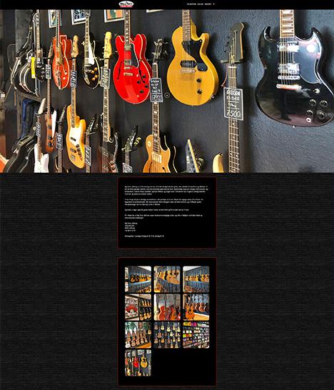 Bigtone Music Website Screenshot