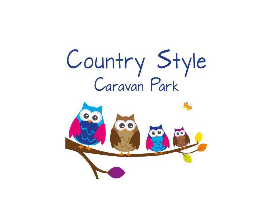 Country Style Caravan Park Logo