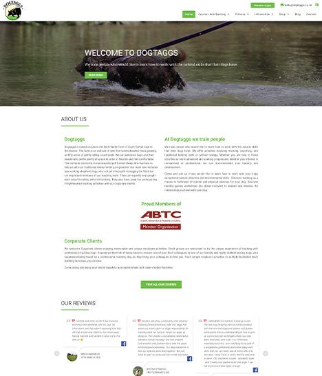 DogTaggs Website Screenshot